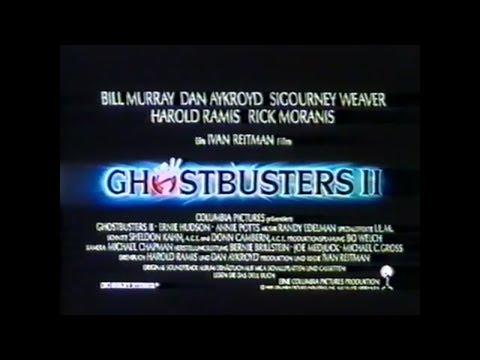 Ghostbusters II 1989 Trailer German / Deutsch Kino  Ghostbusters 2