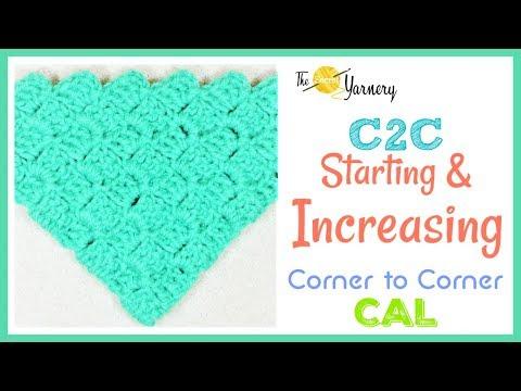 How to Start and Increase C2C Corner to Corner
