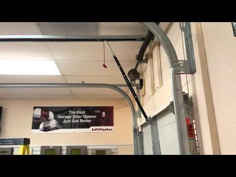 Highlift Garage Door With Opener Liftmaster