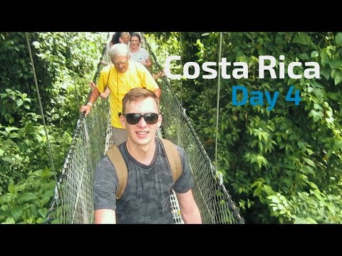 FIRST TIME FLYING A DRONE! | Travel Vlog (Costa Rica)