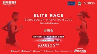[LIVE] Elite Race Borobudur Marathon 2020
