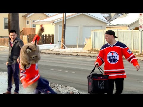 Edmonton Oilers Fans Get Lucky Surprise From Drake Caggiula!