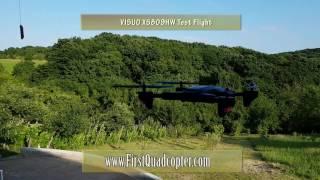 vISUO XS809HW review - Test flight