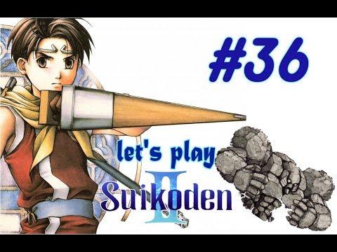 Let's Play Suikoden 2 mit Sarah #36 - Stein Golem FAIL