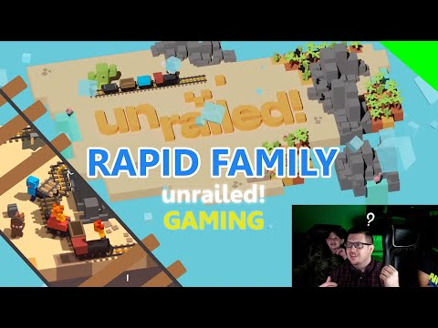 Gaming - Unrailed!  