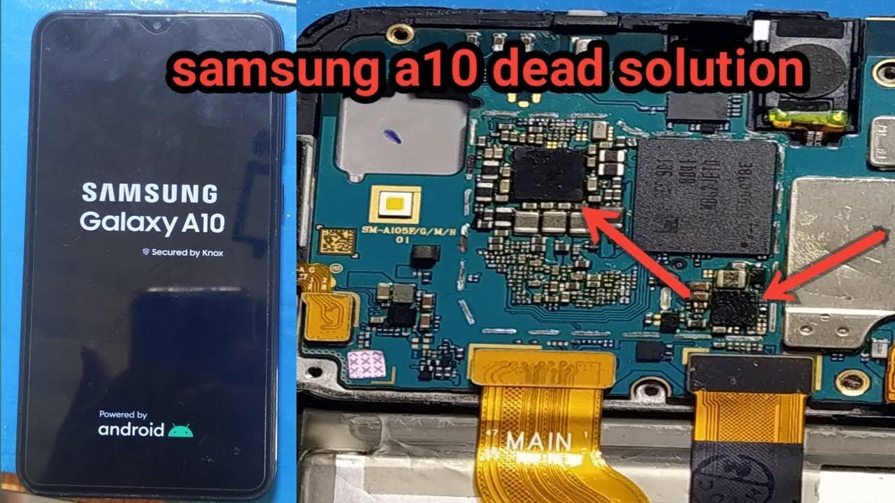Samsung Galaxy A10 Dead Samsung A105f Dead Solution Youtube