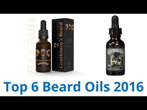 6 Best Beard Oils 2016