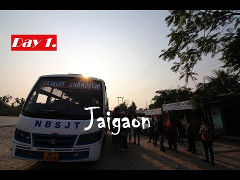 Kolkata to Jaigaon    Journey Started    Bhutan Trip ~ Day 1