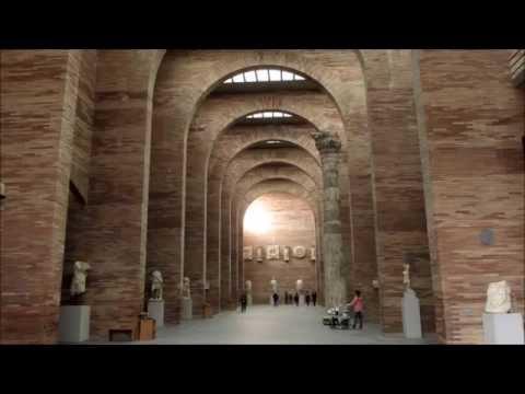 Merida, Spain:  Museum of Roman Art - Museo de Arte Romano, Merida, España