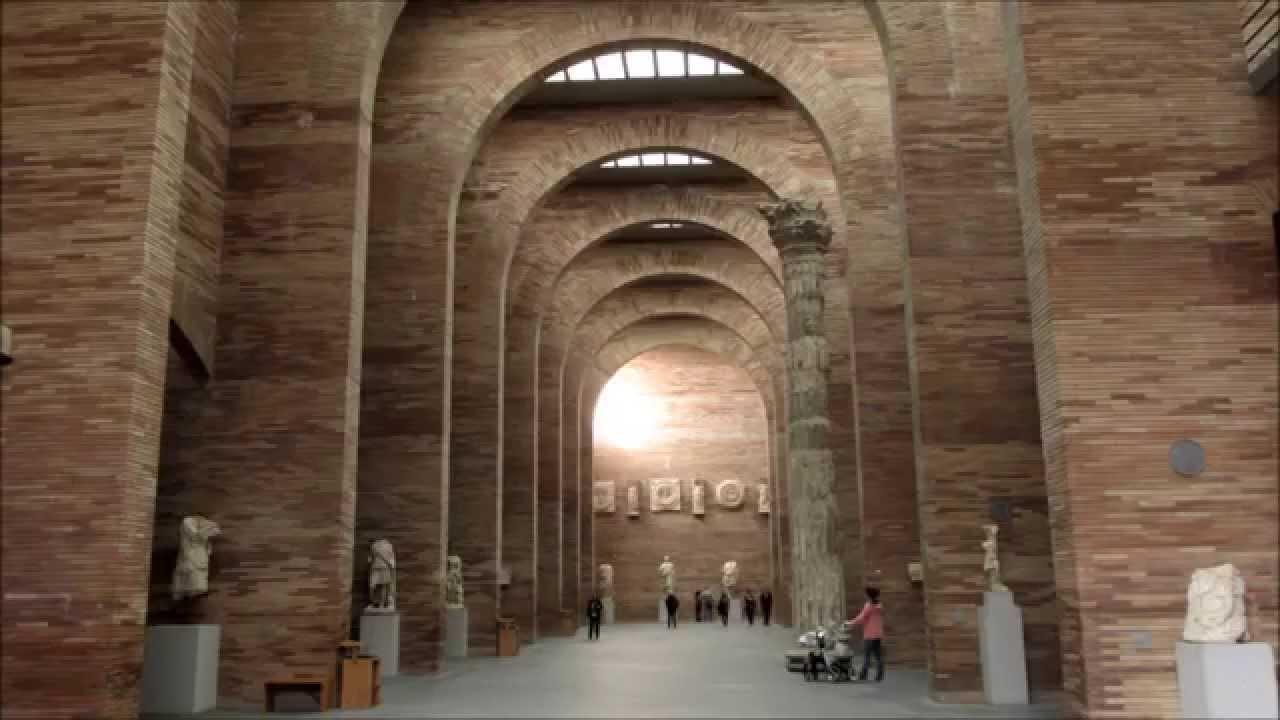 Merida, Spain: Museum of Roman Art - Museo de Arte Romano, Merida, España - Y...