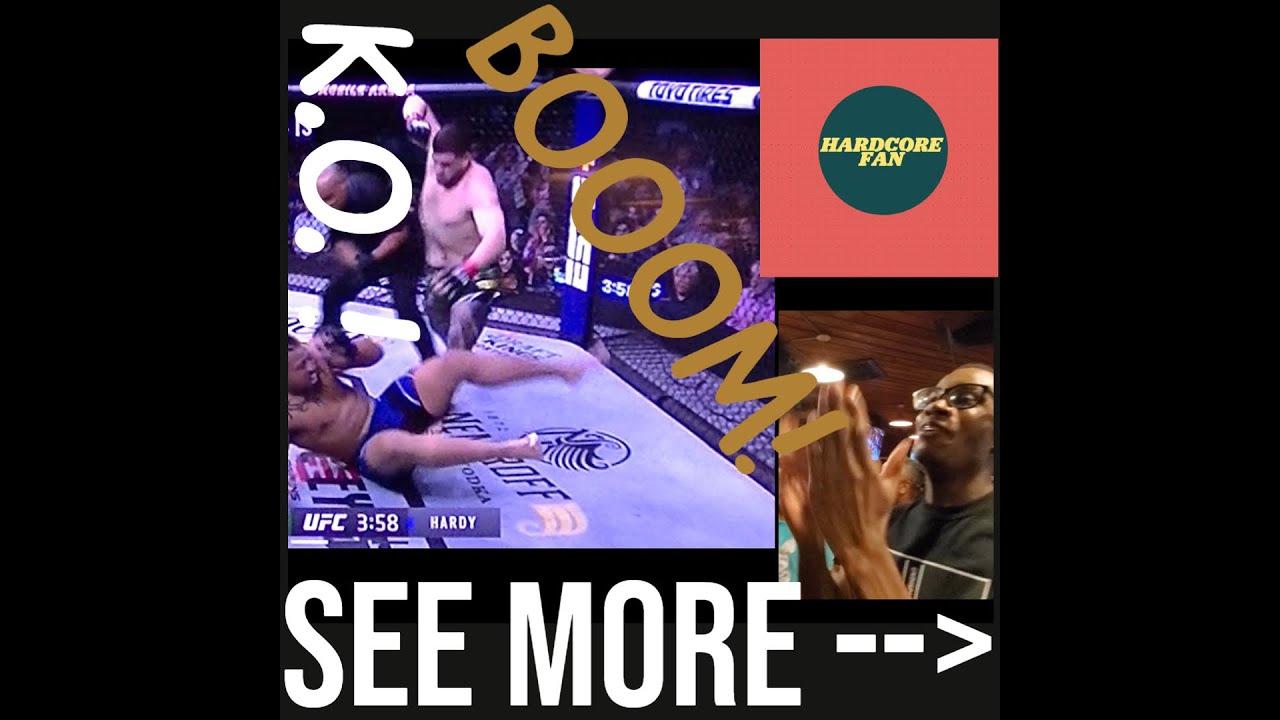 UFC 264: Tia Tuivasa v Greg Hardy   UFC Reaction   Highlights and more   MMA Fighting
