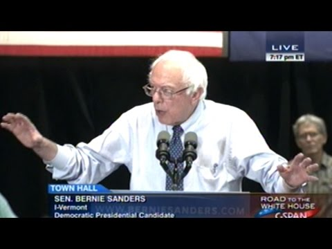 "Bernie Sanders ""Racism Remains A Much Too Real Part Of American Life"""