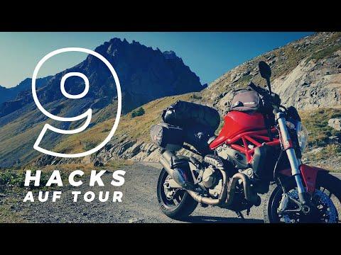 9 kleine Hacks die auf keiner Motorradtour fehlen dürfen