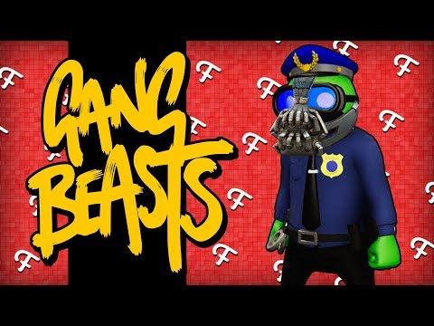 Gang Beasts: TyTyTheJedi Bathroom Break, BaneZaster, Chosen One, The Ladies! (Comedy Gaming)