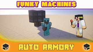 Super Compact & Easy Auto Armory - Minecraft: Funky Machines