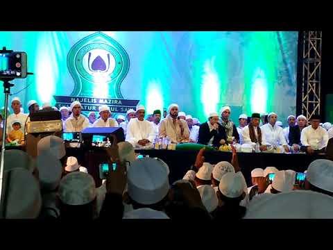 Depok bersolawat bersama habib syekh dan musthofa atep (qomarun)