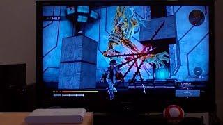 Freedom Wars on Playstation TV Gameplay (PSVita TV)