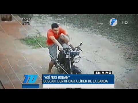 bbae374d50c Graban a un hombre robando una moto - YouTube
