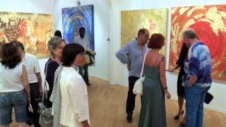 Estasi, mostra personale di Sarah Arensi 5 luglio 2014 Galleria Wikiarte