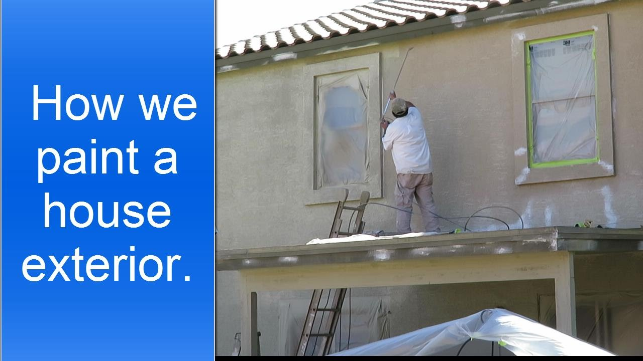 exterior house painting preparation