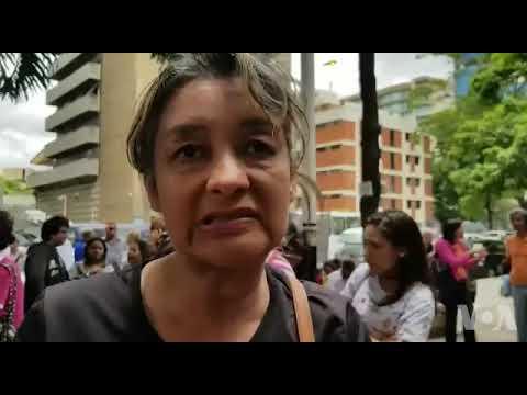 Venezolanos protestan en Caracas por visas a Chile