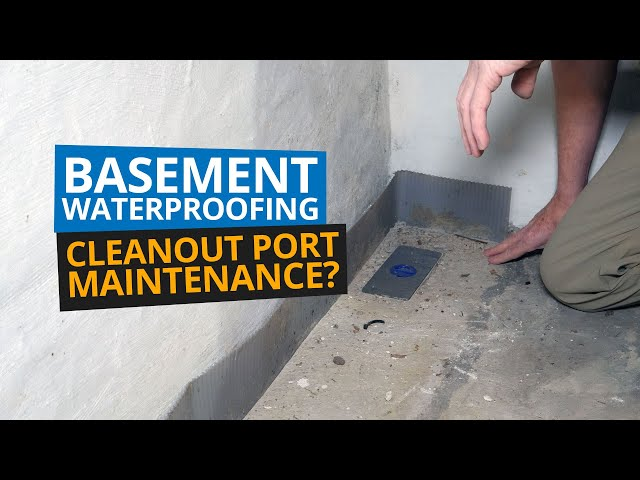 Basement Waterproofing | Why Maintenance?