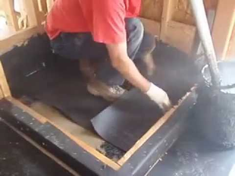 How To Hot Mop A Shower Pan