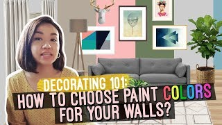 How to Choose Paint Colors for Your Walls // Where to buy Custom Paint in the Philippines // Elle Uy