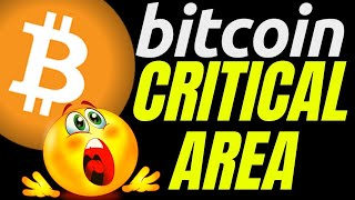 🌟 BITCOIN IS IN A CRITICAL AREA!!🌟bitcoin price prediction, analysis, news, trading