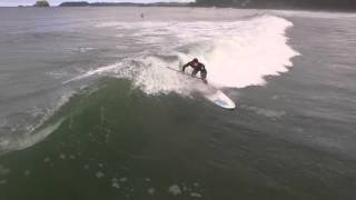Stand Up Surfing, Tofino, Vancouver Island