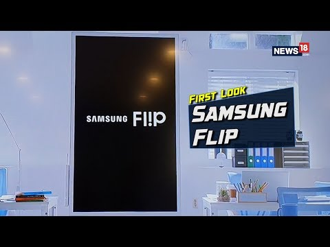 Samsung Flip Interactive Digital Display Launched For Rs 3