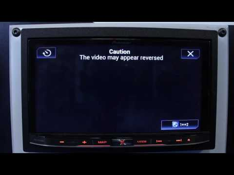 How to turn on your rear view camera without being in reverse on your Pioneer NEX radio