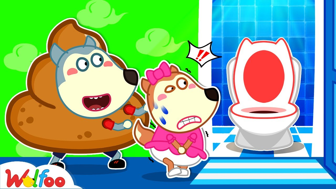 Download Lucy, Let's Poo in the Potty! - Kids Stories About Potty Training with Wolfoo | Wolfoo Channel