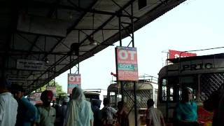 Patiala Bus Stand.MOV