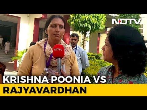 """""""Khiladi vs Khiladi"""": Olympian Krishna Poonia On Rajyavardhan Rathore"""