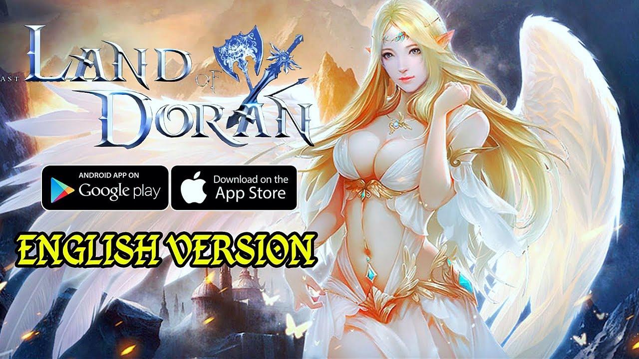 Land of Doran - English Version MMORPG Gameplay (Android/IOS)