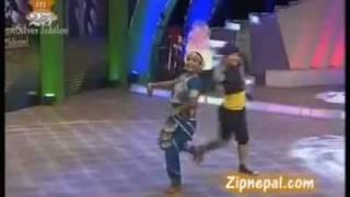 parbati rai dancing in cham chami