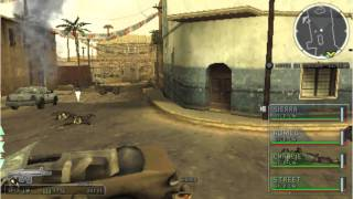 SOCOM TACTICAL STRIKE PSP, MISSION 1- PART1 HD.