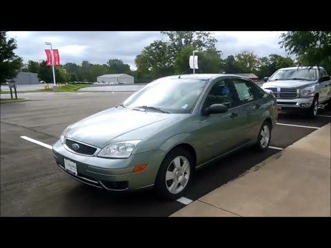 2006 Ford Focus Ses Zx4 Start Up And Full Tour