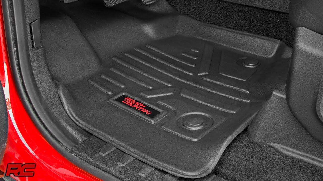 20152016 Ford F150 Floor Armor Heavy Duty Floor Mats by