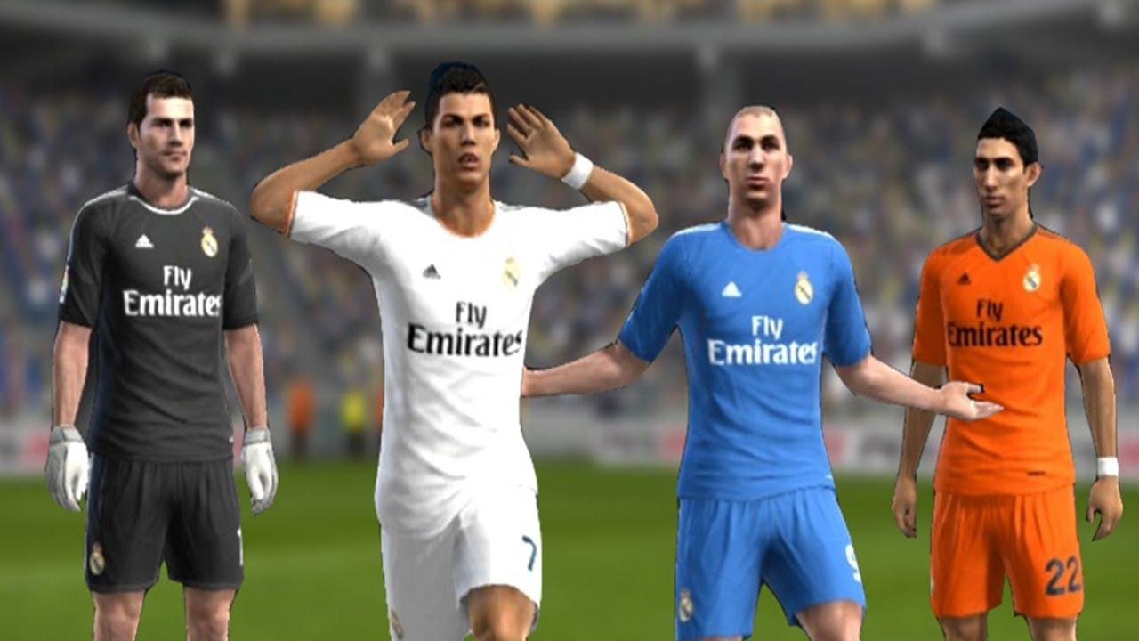 big sale f52ee 4a287 PES 2013 - Real Madrid New Kits 2013 - 2014   Home/Away   ║HD║