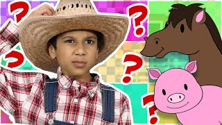 Old MacDonald Had a Farm | Find All the Animals