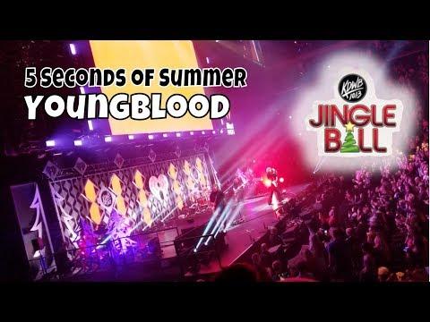 5 Seconds Of Summer - Youngblood   KDWB Jingle Ball   StewarTV