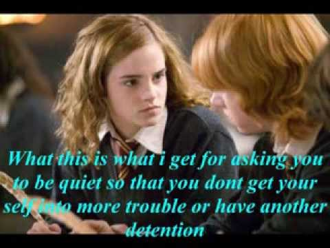ron and hermione dating at hogwarts fanfiction