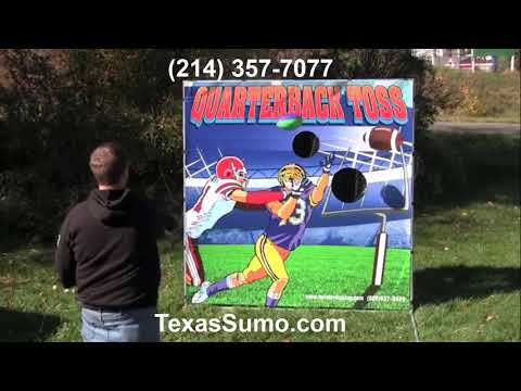 Football Toss - Carnival Game Rental - Dallas, TX