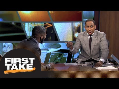 Stephen A. goes off on Ryan Clark for Roethlisberger-Rodgers comparison | First Take | ESPN