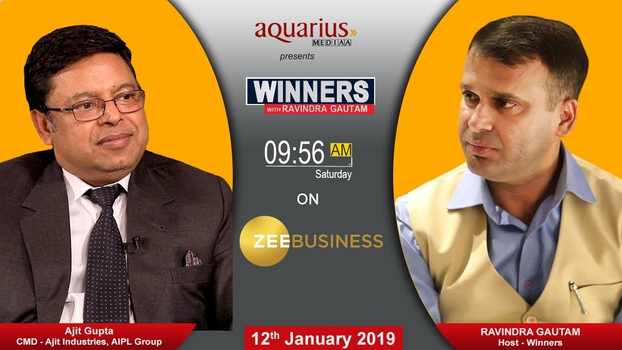 Download Success Story of Ajit Gupta of AIPL Group   Winners With Ravindra Gautam on Zee Business