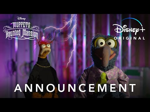 Announcement | Muppets Haunted Mansion | Disney+