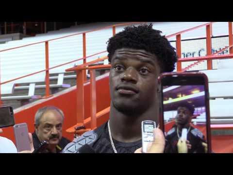 Lamar Jackson Syracuse Post-Game 9-9-2016