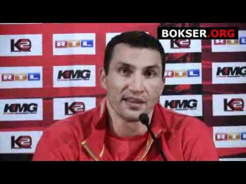 Wladimir Klitschko vs Samuel Peter II - press conferance